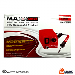 Maxx Pamma 550 Soldering Iron Station 12W with Adjustable Temperature Controlled Power Unit
